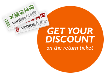 Get your discount on the return ticket.