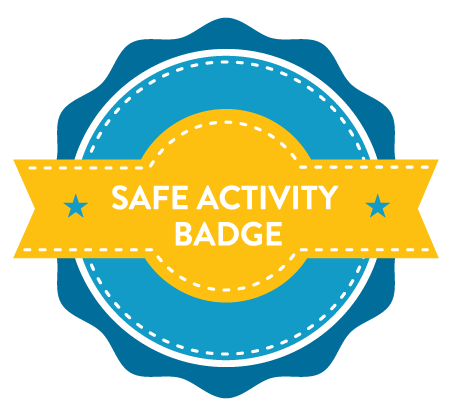 Covid Safe activity badge