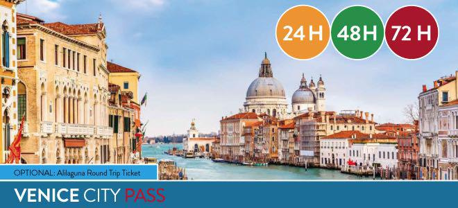 Venice City Pass 24/48/72 hours