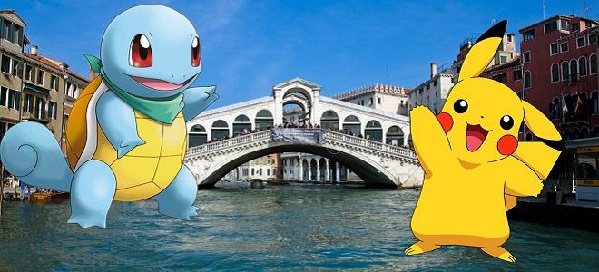 Pokemon Venice Guided Tour