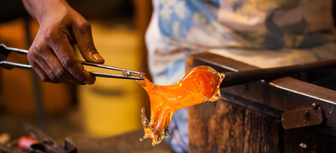 Murano island glassblowing tour