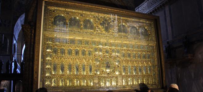 piazza san marco basilica pala d'oro tour guidato venezia
